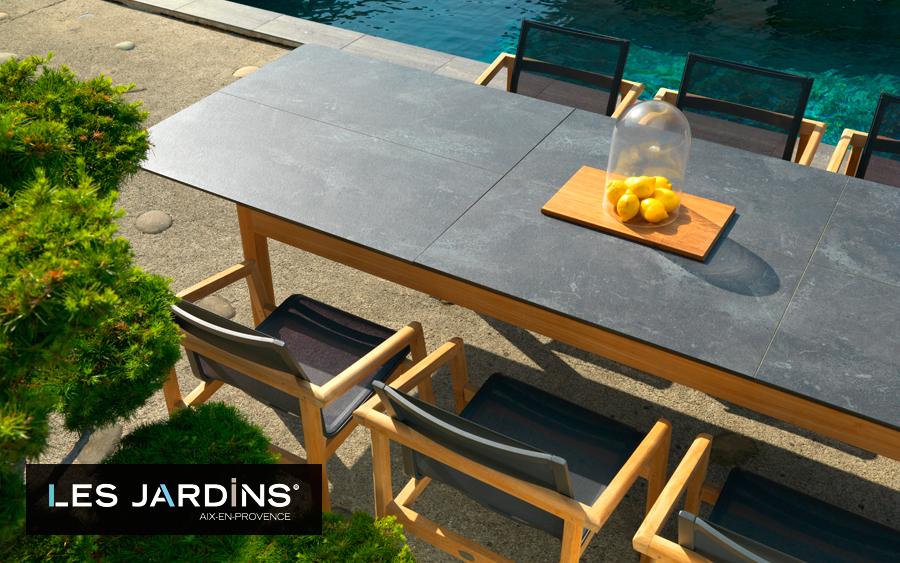 Ключовий гравець на ринку садових та вуличних меблів — французький бренд Les Jardins®